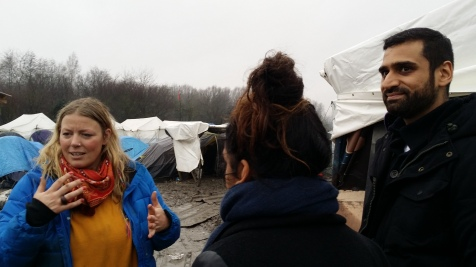 c4 - volunteers at the dunkirk camp