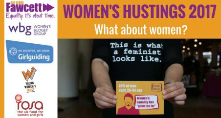 WOMEN'S HUSTINGS