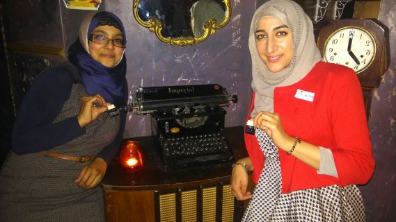 Comparing typewriters - as you do...