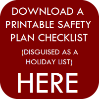 holiday list safety plan button