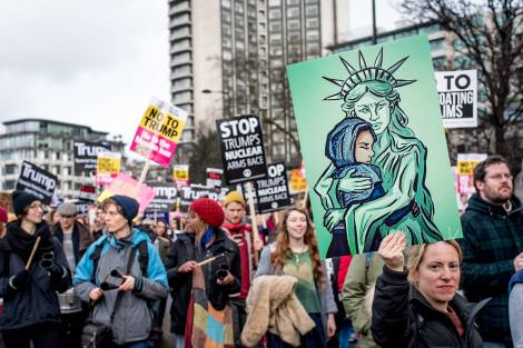 london-anit-muslim-ban-trump-protest-march-1